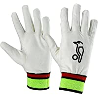KOOKABURRA Full Gamuza Guantes Internos para Wicket Keeping, Tallas Grandes Caballero