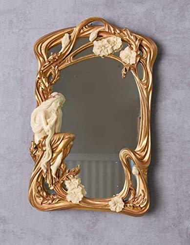 Spiegel im Jugendstil Nymphe Standspiegel Dekospiegel Shabby chic AN10321AA Palazzo Exklusiv