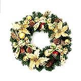 ZHongWei - Corona de Navidad Corona de Navidad, Arreglo de Navidad Ornamento Colgante Escena del golpeador Suministros Ornamentos de Navidad Categoría 5 Opcional Arboles de Navidad