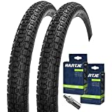 SET: 2x Mitas Nitro Fahrrad Decken BMX Reifen 20x1.75 / 47-406 + 2 Schläuche Blitzventil