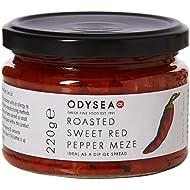 Odysea Roasted Sweet Red Pepper Meze Jar 220g (Pack of 3)