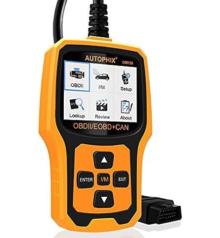 OBD2 Scanner OM126 Boitier Diagnostic Auto Multimarque OBDII Lecteur Code