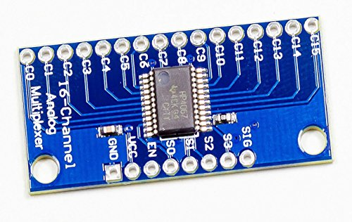16-Kanal analog digital Multiplexer Modul CD74HC4067 für Arduino Rasperry Pi DIY
