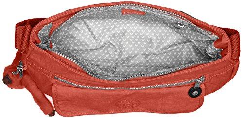 Kipling Damen Syro Umhängetasche, 31 x 22 x 12.5 cm Rot (78G Red Rust)