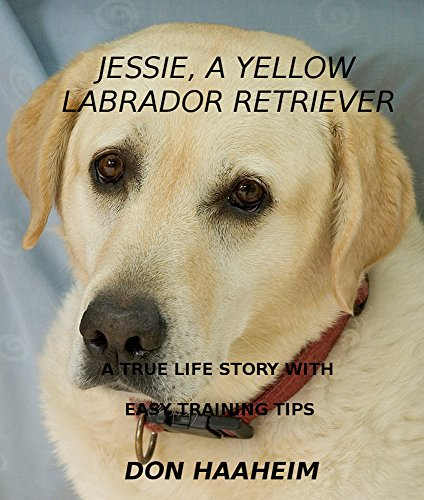Jessie, A Yellow Labrador Retriever: A True Life Story With Easy Training Tips (English Edition) -