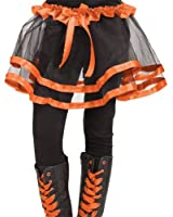 Costumes for all Occasions FW90253OR Ribbon Tutu Child Orange