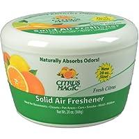 Citrus Magic Solid Odor Absorber, Fresh Citrus, 20-Ounce by Citrus Magic
