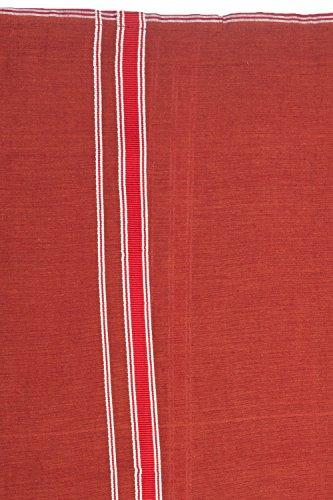Handgewebter Unisex Sarong Rock, blickdicht, aus Baumwolle (Schlauch-Form), 204x112 cm Design 6