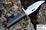 Cuchillo de caza con cuchilla de cuero cuchillo fijo