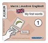 Meine Lesedose Englisch 1 - My first words: 24 Bild-Wort-Karten