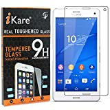 Xperia Z3+ Tempered Glass, iKare 2.5D 9H Tempered Screen Protector for Sony Xperia Z3+