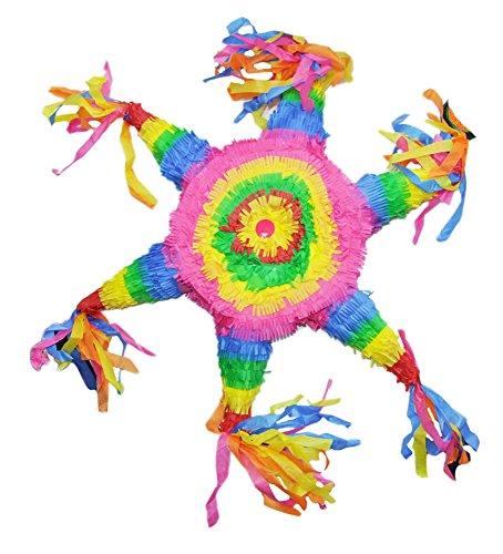 Das Kostümland Pinata - Geburtstags Dekoration - Bunter Stern - Tolles Geschenk für Kindergeburtstag, Hochzeit oder - Esel Kostüm Drache
