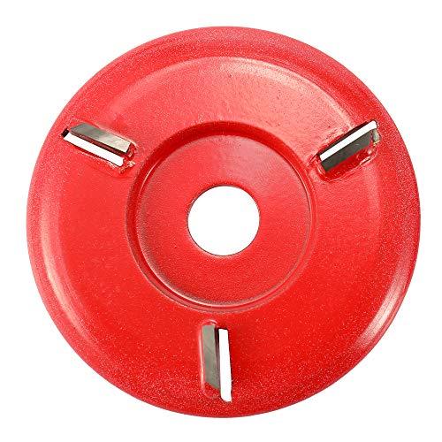 Roeam Holzschnitzerei Scheibenfräser für 16mm Blende Winkelschleifer, Frässcheibe Schutzbrille DREI Zähne Holzbearbeitung Turbo Tee-Tablett