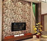 Super Thick 3D Holzstamm Textur Geprägte Pvc Wasserdichte Tapetenrolle Wohnzimmer Desktop Wallpaper Wandbild 336x238cm
