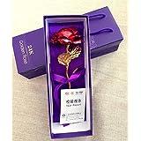Lámina de oro de 24K oro con flores () de alta pureza Craft arte mejor regalo para el día de San Valentín, Día de la madre, Navidad, cumpleaños, wedding- hecho a mano y duran para siempre