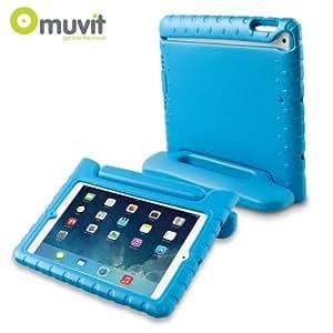 Muvit Etui KIDDO Bleu avec Support intégré Muvit pour Apple iPad Air