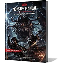 DUNGEONS & DRAGONS MONSTER MANUAL - MANUAL DE MONSTRUOS EDICIÓN ESPAÑOLA