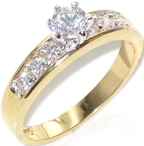 Ah! Jewellery Wonderful Ladies Sparkling Swarovski Elements 2ct Solitaire Ring