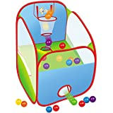 Webby Pop Up Basketball Tent, Multi Color