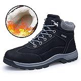 Best Men Boots - ZENGVEE Men's Lace-Up Walking Boots Waterproof Trekking Ankle Review