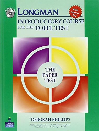 Intro TOEFL paper test. Con espansione online. Con CD Audio. Per le Scuole superiori. CD-ROM: With Answer Key