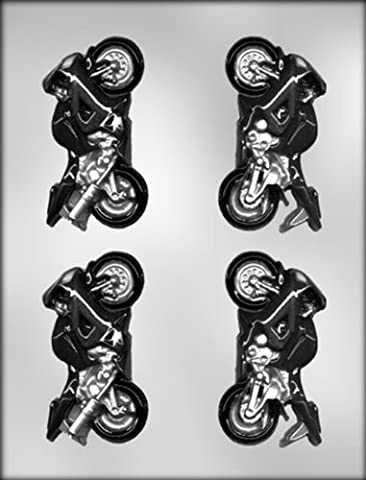 CK Products 3-D Motorcycle Motorbike Chocolate Mold