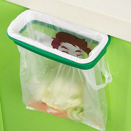 Schrank Aufhänger (rungao Küche Aufhänger Storage Rack Schrank Tür Trash Halterung Rack Closet Müllsäcken Racks)