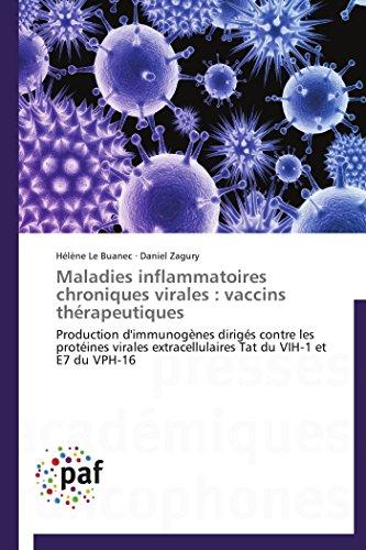 Maladies inflammatoires chroniques virales : vaccins thrapeutiques