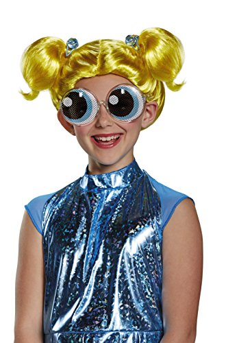 erpuff Girls Cartoon Network Wig, One Size Child, One Color by Disguise ()