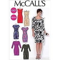 McCall's Patterns MC7085 - Patrones para Vestidos (A5, Tallas 34-42)