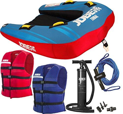 Jobe Tube TRIBAL II Package Funtube Sport Wassersport red blue -