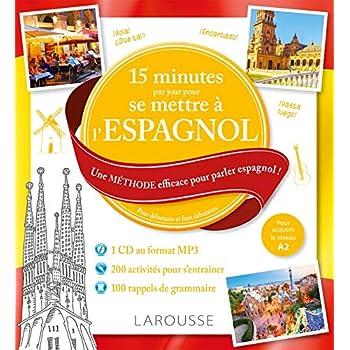 15 mn par jour pour se remettre à l'espagnol + CD