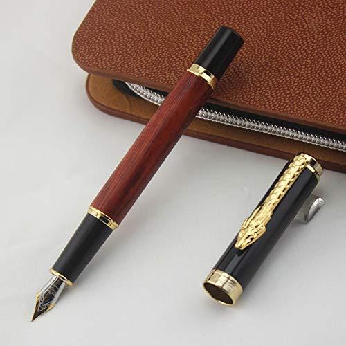 LFMDGB Drachen Clip Hohe Qualität Metall Kugelschreiber Für Kalligraphie Schreiben Kinder Geschenk Schulbedarf Student Füllfederhalter