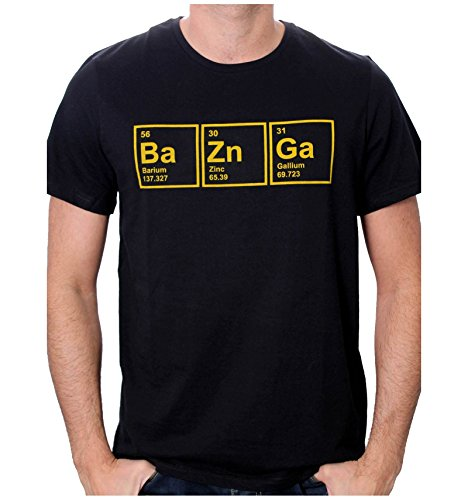 The Big Bang Theory Ba Zn Ga T-Shirt nero S