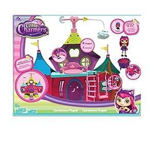 Spin Master Little Charmers Charm House Playset - Casas de muñecas (482,6 mm, 127 mm, 381 mm, 1,8 kg, Caja con Ventana, Figura de Juguete)