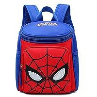School Bag,Kid Backpack Superhero Children Backpack Durable Adjustable Kindergarten Book Bags Boys Girls Primary School Book Bags