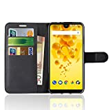 Wiko View 2 Case, Anzhao Premium PU Leather Wallet Flip