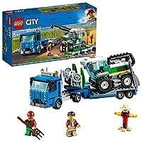 Scopri la vita in fattoria e lavora con l'incredibile Trasportatore di mietitrebbia!Aiuta l'agricoltore di LEGO® City a gestire il suo raccolto con il Trasportatore di mietitrebbia 60223! Questo robusto trasportatore giocattolo è dotato di una cabina...