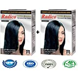 RADICO-ACE-HERBAL BASED BLACK HAIR COLOR WITH NATURAL HENNA & NOURISHING HERBS (AMMONIA FREE)