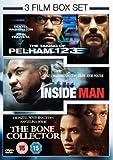 3 Film Box Set: Taking Of Pelham 123/Inside Man/Bone Collector [DVD]