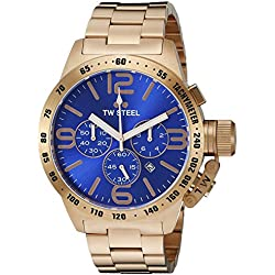 Tw Steel CB184 - Reloj de pulsera para hombre, azul/rosa