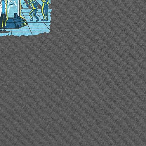 Planet Nerd - Incredible Tiny Rick - Damen T-Shirt Grau