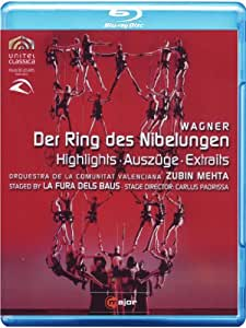 Wagner: Der Ring des Nibelung - Auszüge 130 min. (La Fura dels Baus) [Blu-ray]