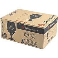 Pasabahce Bistro - Copas Cerveza de 40 cl, Transparente, 12 unidades
