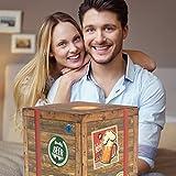 BIERE DER WELT Geschenk Box für Männer + gratis Bierbuch + Geschenkkarten + mehr. Bierset mit Bier aus Amerika + Asien + Tschechien + Belgien + Spanien ... Geschenkset + Biergeschenke aus aller Welt -