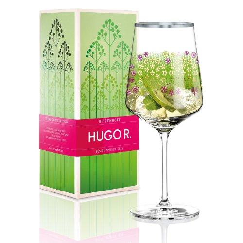 Ritzenhoff Hugo R., Aperitifglas, Glas in Geschenkbox, 600 ml, Design Frühling 2014, Luca Casini, 2930009