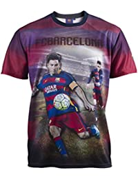 Maillot Barça - Lionel MESSI - Collection officielle FC BARCELONE - Taille adulte homme