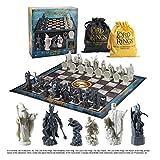 The Noble Collection Bataille d'échecs du Seigneur des Anneaux pour la Terre du Milieu Réplique du Seigneur des Anneaux 47 x 47 cm