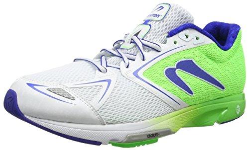Newton Running Women's Distance VI Running Shoe, Scarpe Donna, Verde (Mint/Navy), 35.5 EU