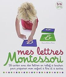 Mes lettres Montessori